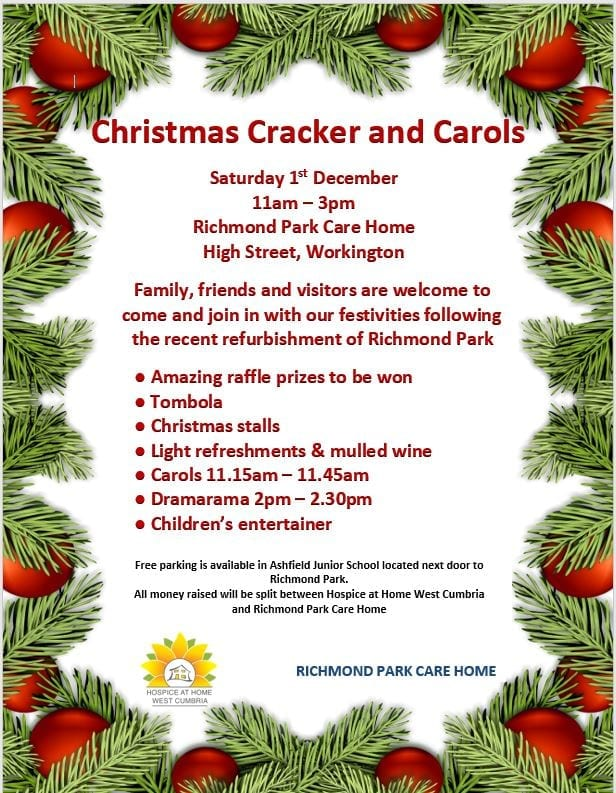 December starts with a cracker of an event at Richmond Care Home!