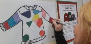 Christmas Jumper Colouring In