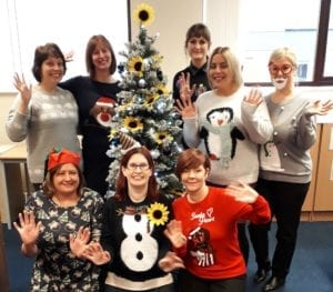 Christmas Jumper Day Office
