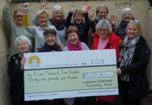 Cockermouth Fundraising Group 2018 Fundraising