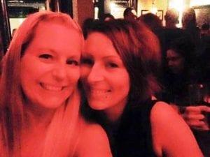 Katie and her aunt Jade
