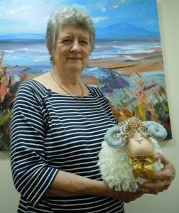 The Hospice Shepherdess Margaret Harkins